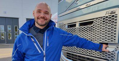 Volvo Trucks -myyjä Joni Tukiainen