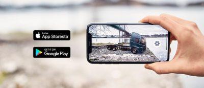 Volvo Truck Builder AR-applikaatio