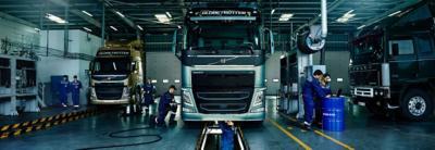 Volvo trucks genuine Volvo service hero slim
