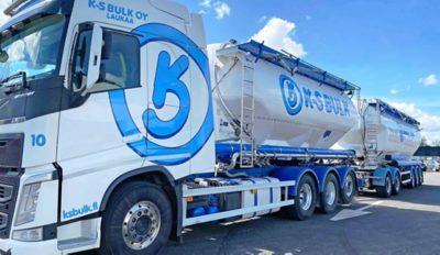 K-S Bulk Oy hyödyntää Volvo Älykäs Rengaspalvelua