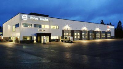 Jyväskylän Volvo Truck Center palvelee osoitteessa Huletie 10, Jyväskylä.
