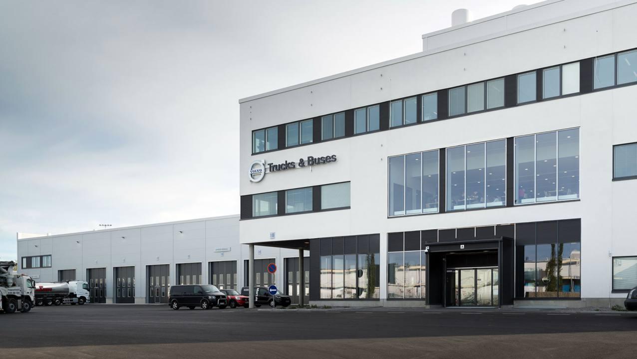 Volvo Truck Center Vantaa