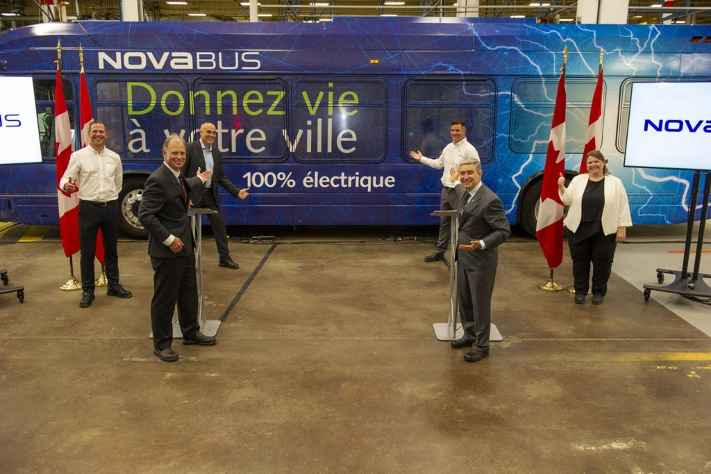 Nova Bus continues to invest in its growth