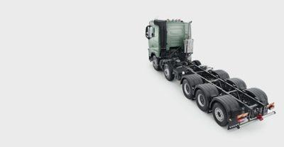 Volvo FH five axles studio