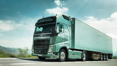 Volvo trucks managing dynafleet fuel environment green truck