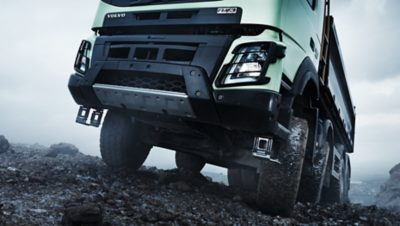 Volvo FMX fuel efficiency automatic traction control