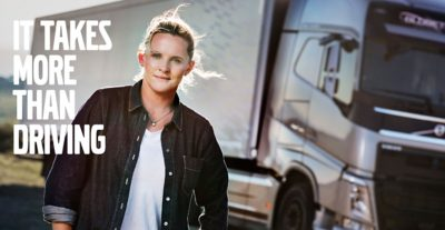 Australian driver Louise Marriott, first woman to win the Drivers' Fuel Challenge in 2015.