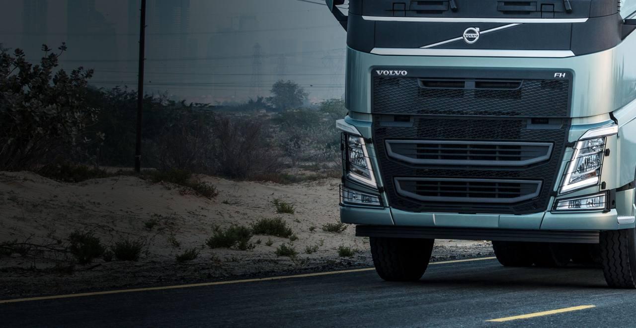 Volvo FH: suspensión neumática GRAS-G2