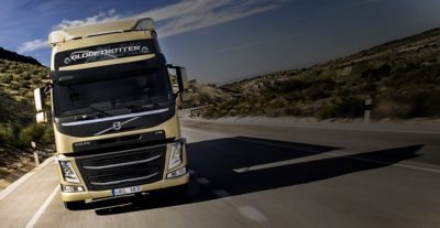 Volvo FM with improved stability and steering control