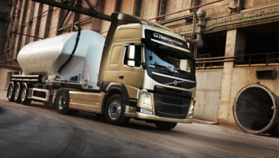 Volvo FM with reduced oversteering