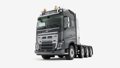 Volvo FH heavy duty bumper studio