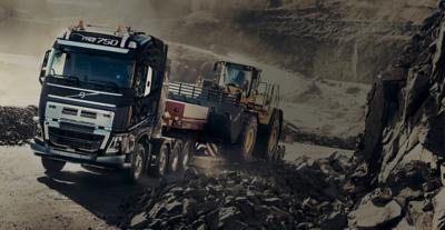 Volvo FH heavy duty bumper tough terrain