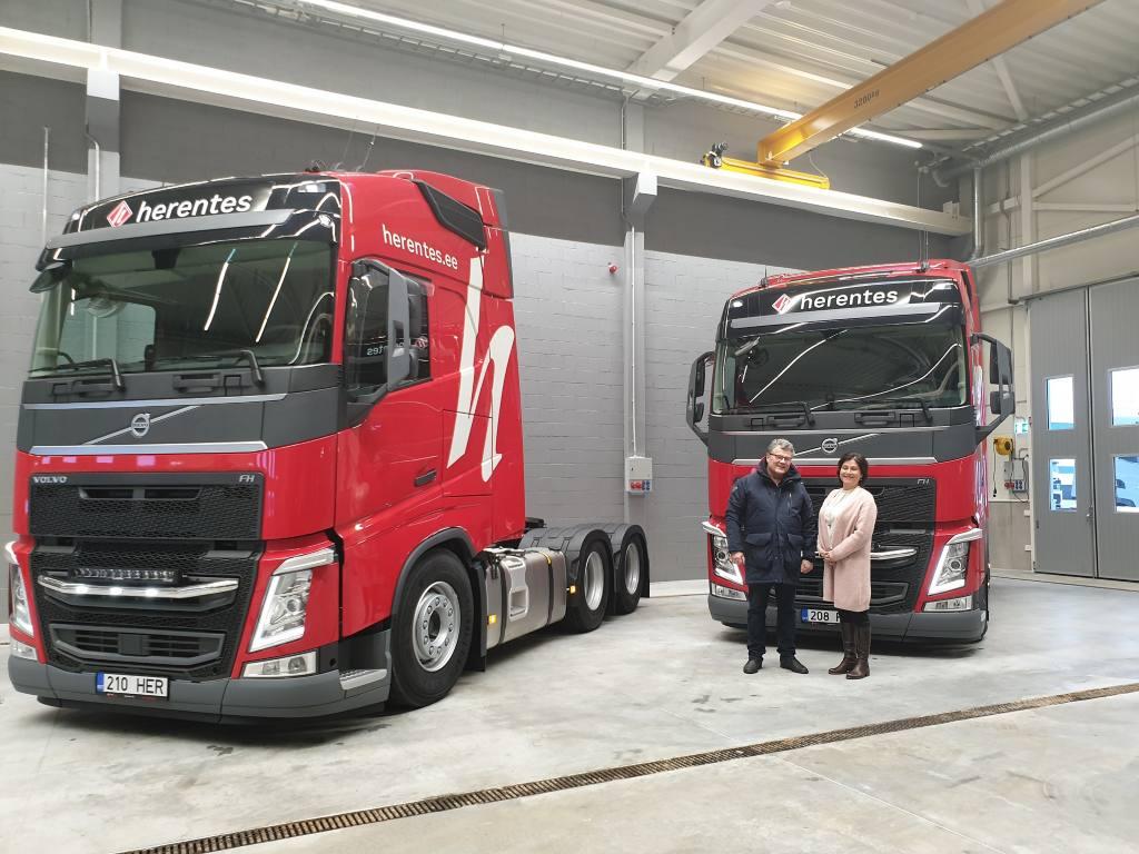 Herentes AS uued Volvo veokid