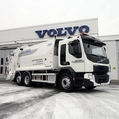 Volvo FE 6x2 baklastande sopbil