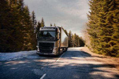 Der aktuelle Volvo FH mit I-Save
