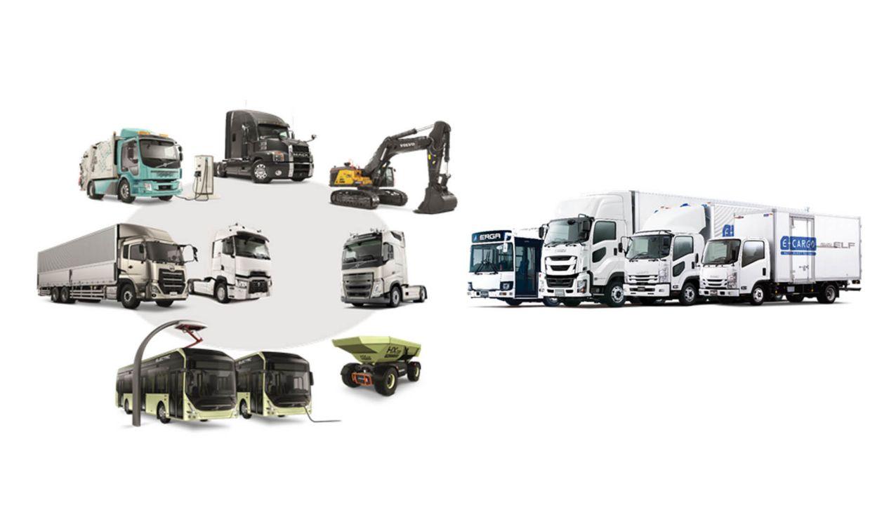 Volvokoncernen och Isuzu Motors slutför UD Trucks-affären som en del av den strategiska alliansen