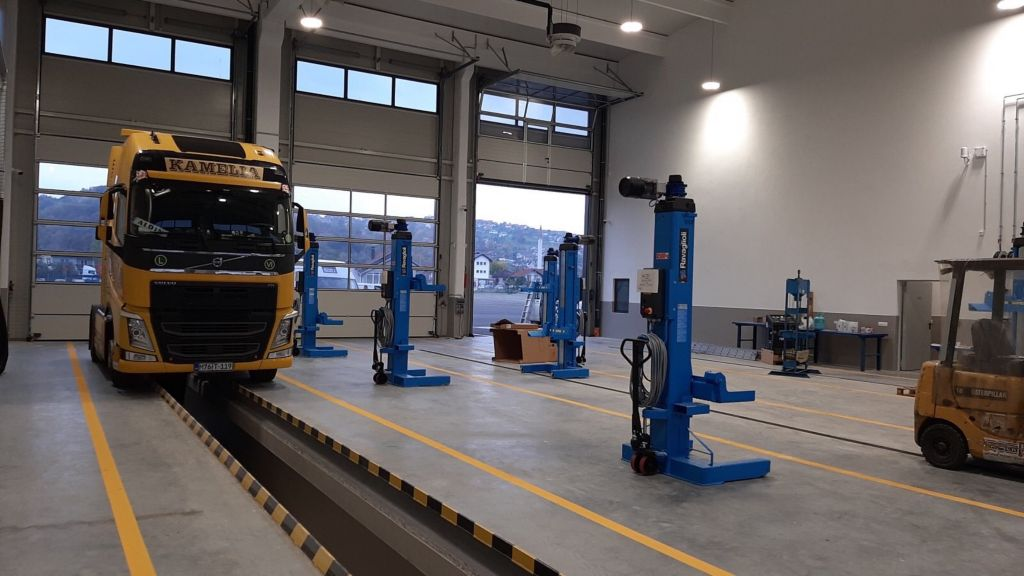 Novi Volvo kamionski centar u Matuzićima, kod Doboja