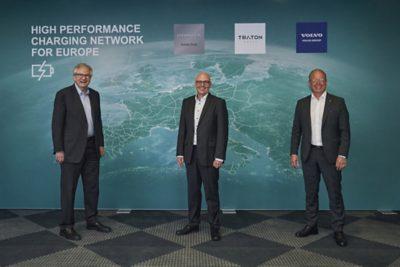 Martin Daum, CEO Daimler Truck - Matthias Gründler, CEO TRATON GROUP - Martin Lundstedt, CEO Volvo Group