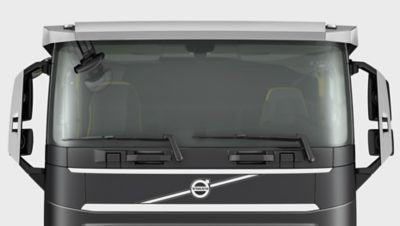 Volvo FH low sleeper cab windshield