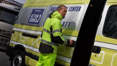 круглосуточная помощь на дорогах от Volvo