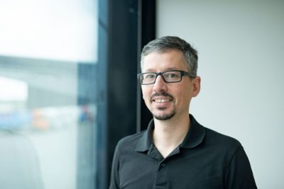 Head  of Innovation and Research at the E-Bus Competence Center in Luxembourg, Marcin Seredynski