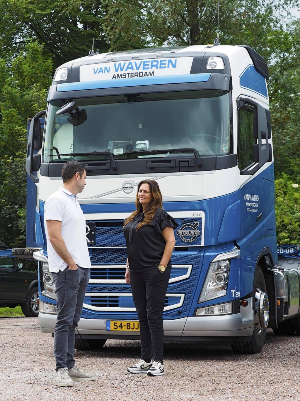 """Van Waveren Transport over I-Save: """"Wij besparen met Turbo Compound in één jaar 4.000 liter diesel en zo'n 10 ton CO2"""""""