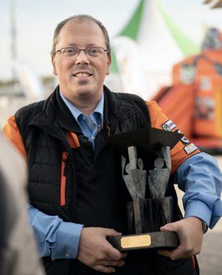 Martin Kolff, winnaar NK Veiligste Chauffeur in 2019