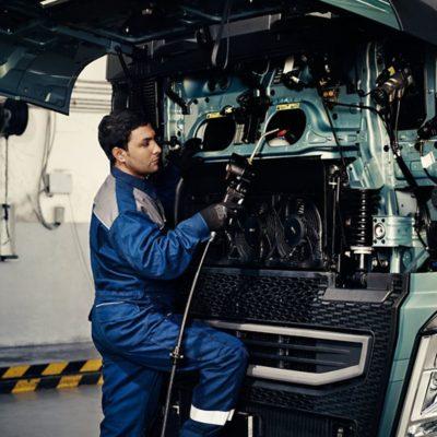 Volvo FH fuel efficiency engine