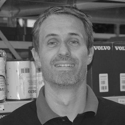 Reservedelschef hos Volvo Truck Center Viborg