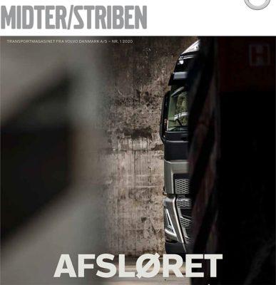 Midter/Striben er Volvo Trucks' kundemagasin med kundehistorier og den nyeste Volvoteknologi.