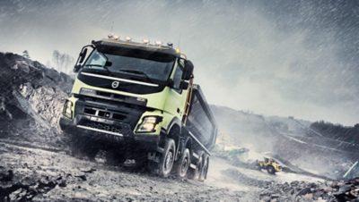 Volvo FMX mobility gravel pit