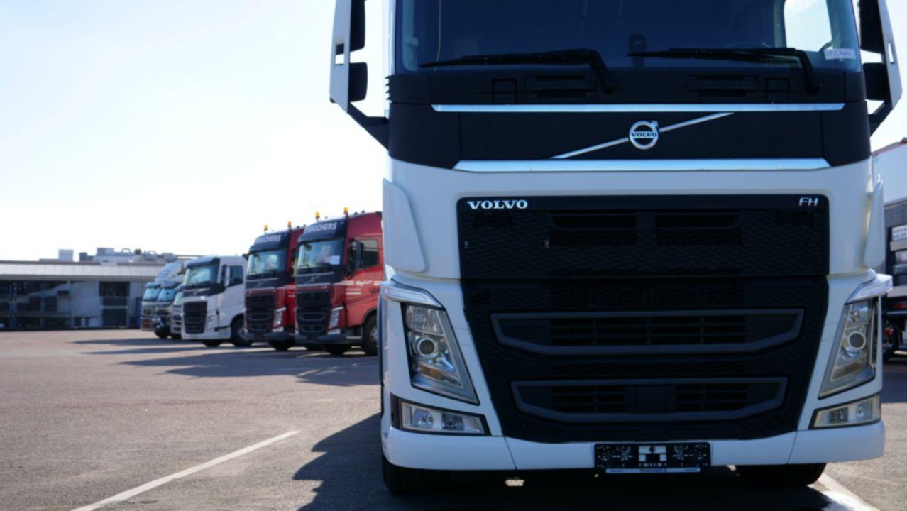 Volvo Trucks lancerer ny platform i Europa til online køb af brugte lastbiler