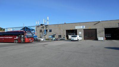 Nordic Last og Buss, avd. Gimle. Foto.