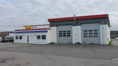 Nordic Last og Buss, avd. Vadsø. Foto.