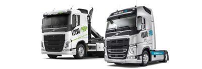 Volvo FH: en krokbil og en trekkvogn i version PRO og Volvo PRO+