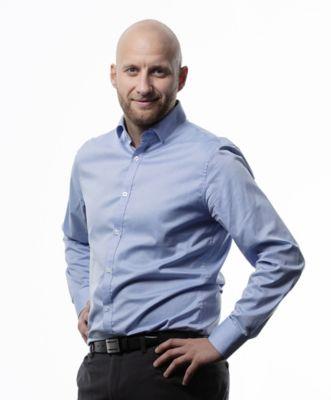 Karstein Ahlin, administrerende direktør i Volvo Norge