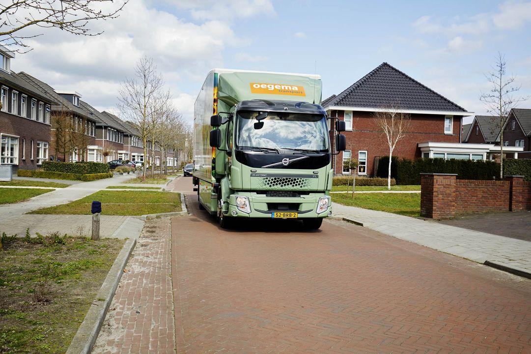 """Oegema over elektrische truck (Volvo FL Electric): """"De prestaties zijn boven verwachting"""""""