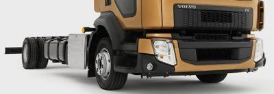 The distinctive shape of the Volvo FL