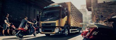 Volvo FL overview vespa truck