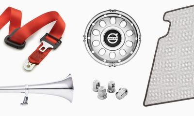 A collage of Volvo Truck Accessories