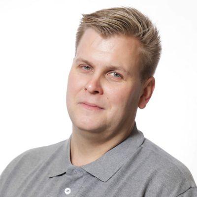 Myyjä, Volvo Trucks Janne Pelttari