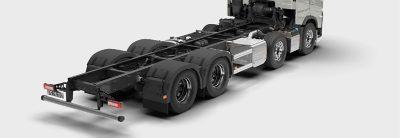 Volvo trucks are well prepared for bodybuilding.