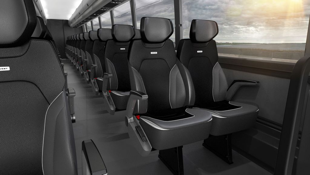 Prevost to debut Cloud One, new proprietary seat line at UMA EXPO