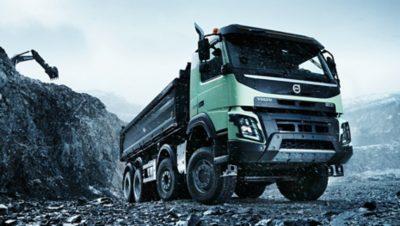 Volvo FMX productivity gravel pit