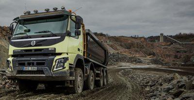 Volvo FMX productivity truck