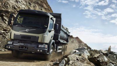 La nueva cabina del Volvo FE reduce la resistencia al aire