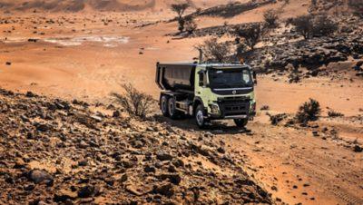 Volvo FMX rear air suspension truck dessert