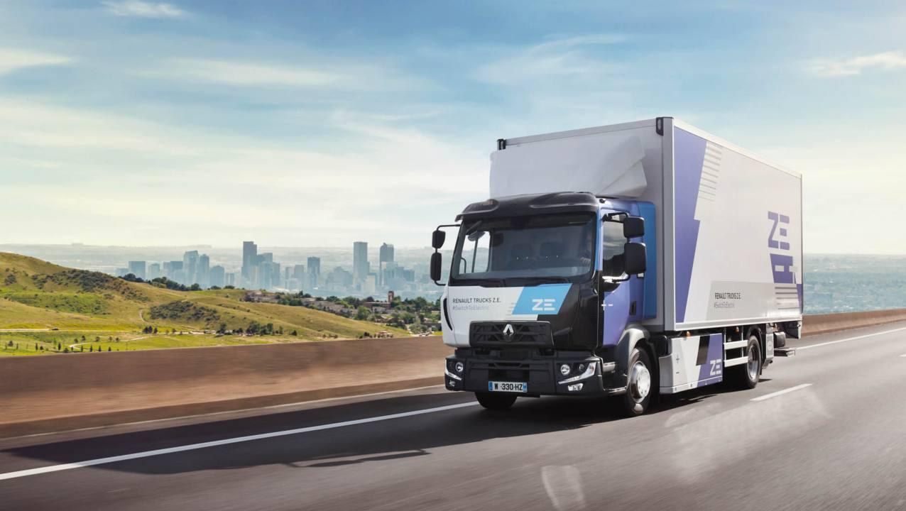 Renault Trucks ska erbjuda ett elektriskt utbud för samtliga segment från 2023
