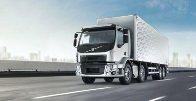 La cabina cómoda y segura del Volvo FE