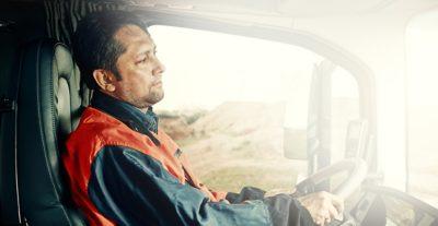 Volvo trucks training efficient man driving